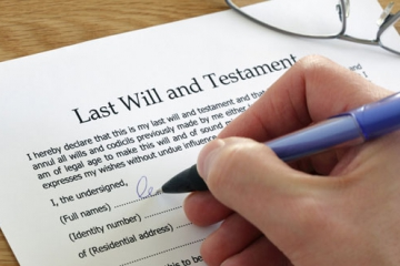 Why Everybody Should Write A Will.